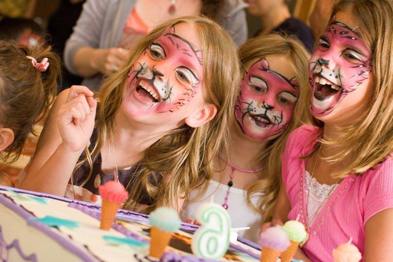 atelier maquillage enfants anniversaire