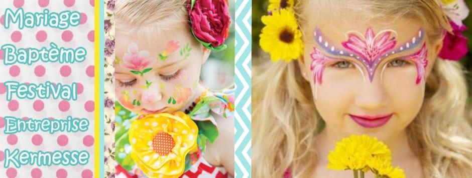 Animation et maquillage enfant en bourgogne